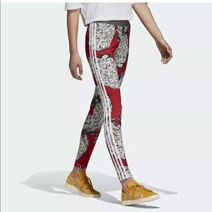 New Women's Adidas x Farm Tights size S